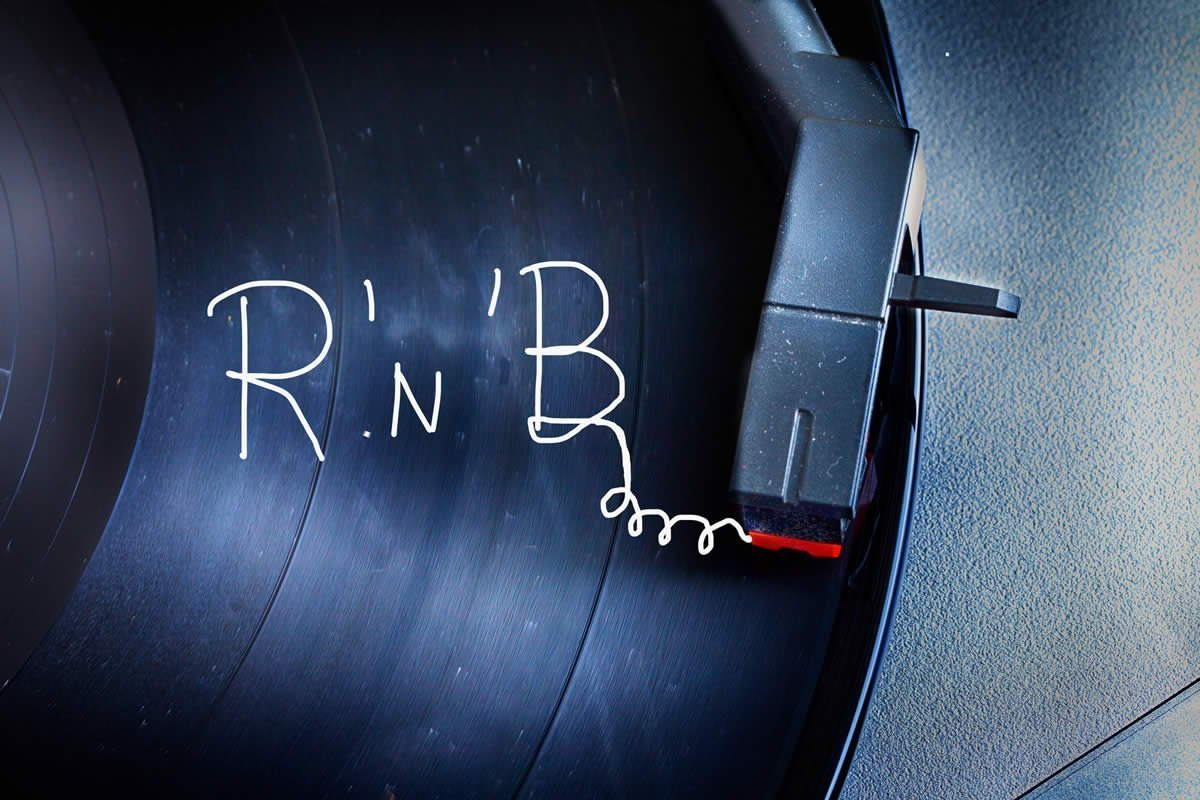 r and b R&b, aka rhythm and blues, started as a combination of jazz, gospel and blues r&b is a genre of smooth pop music that is entirely centered on the vocalist r&b is a genre of smooth pop music that is entirely centered on the vocalist.