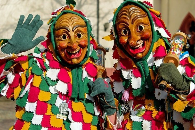 Disfraces en los carnavales de Cádiz